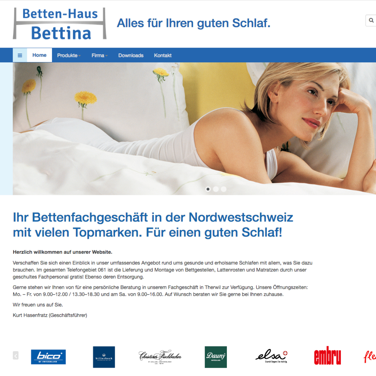 Bettenhaus Bettina